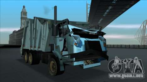 TDK Volvo Xpeditor Garbage Crash Version para GTA San Andreas