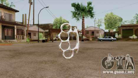 Original HD Brass Knuckle para GTA San Andreas