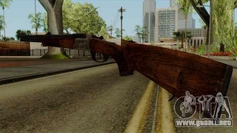 Original HD Rifle para GTA San Andreas segunda pantalla