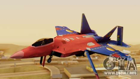 F-22 Raptor MARIO para GTA San Andreas