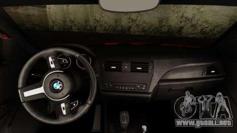 BMW M235i F22 Sport 2014 para vista lateral GTA San Andreas
