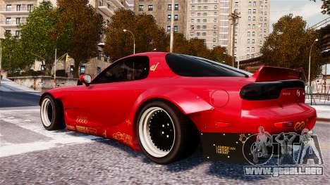 Mazda RX-7 RocketBunny EPM para GTA 4 left