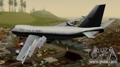 Boeing 747 E-4B para GTA San Andreas left