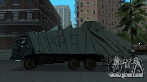 TDK Volvo Xpeditor Garbage Crash Version para GTA San Andreas left