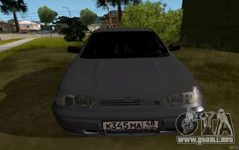 VAZ 2112 Lipetsk para la visión correcta GTA San Andreas
