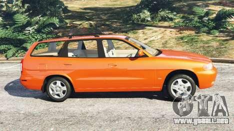 GTA 5 Daewoo Nubira I Wagon CDX US 1999 vista lateral izquierda