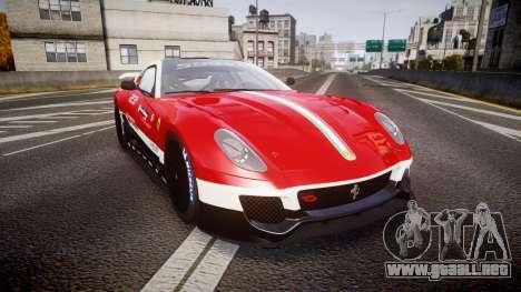 Ferrari 599XX 2010 Scuderia Ferrari para GTA 4