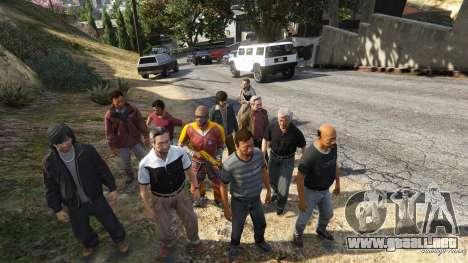 GTA 5 Farnsworths Assassinations and Bodyguards 0.81 séptima captura de pantalla