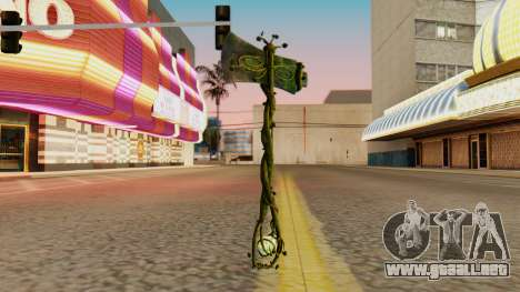 Nature Axe para GTA San Andreas