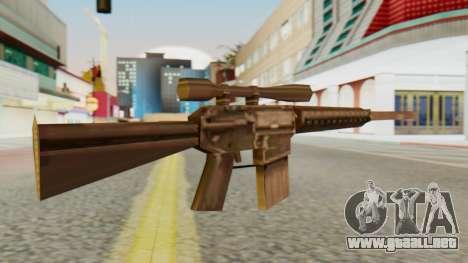 SR-25 SA Style para GTA San Andreas segunda pantalla