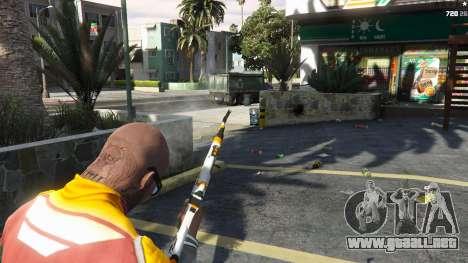 GTA 5 AK47 - Asiimov Edition cuarto captura de pantalla
