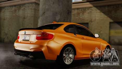 BMW M235i F22 Sport 2014 para GTA San Andreas left