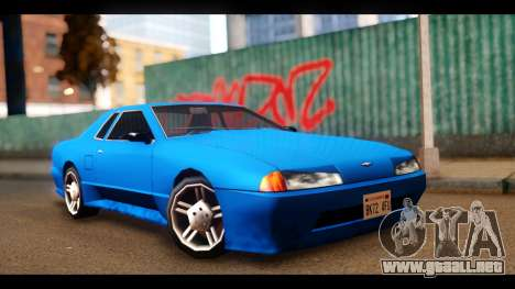 New Elegy by HEPBEH para GTA San Andreas