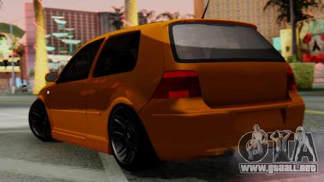 Volkswagen Golf Mk4 para GTA San Andreas left