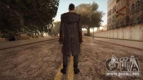 Dante from DMC para GTA San Andreas segunda pantalla