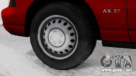 Dolton Broadwing Taxi para GTA San Andreas vista posterior izquierda