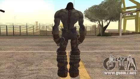 Death from Skyrim para GTA San Andreas tercera pantalla