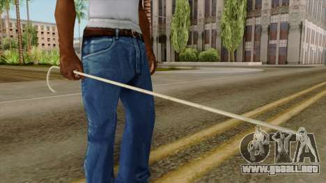 Original HD Cane para GTA San Andreas tercera pantalla