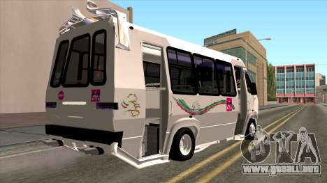 Ford Prisma IV Microbus para GTA San Andreas left