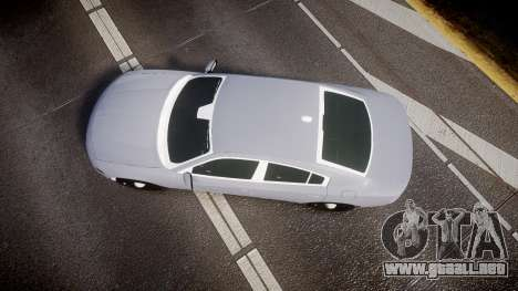 Dodge Charger 2015 Unmarked [ELS] para GTA 4 visión correcta