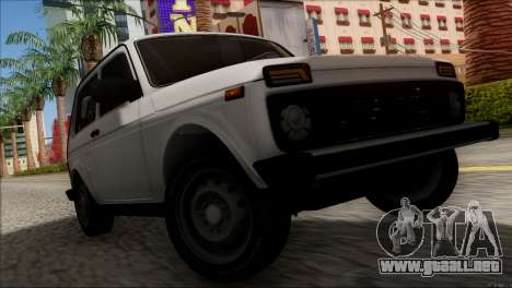 VAZ 2121 Niva BUFG Edición para visión interna GTA San Andreas