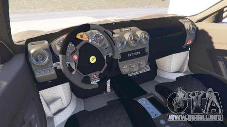 GTA 5 Ferrari F430 v0.1 [Beta] vista lateral trasera derecha