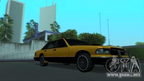 New Taxi para la vista superior GTA San Andreas