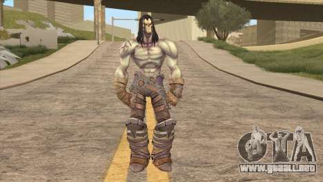 Death from Skyrim para GTA San Andreas segunda pantalla