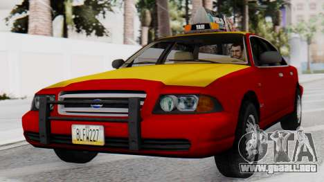 Dolton Broadwing Taxi para GTA San Andreas