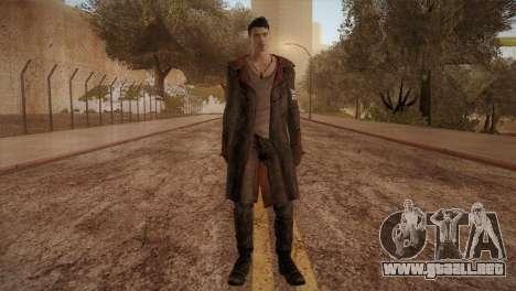 Dante from DMC para GTA San Andreas