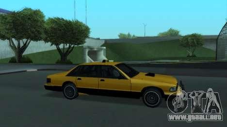 New Taxi para el motor de GTA San Andreas