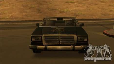 FreeShow Feltzer para las ruedas de GTA San Andreas