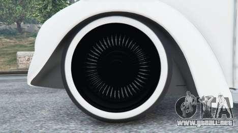 GTA 5 Volkswagen Beetle vista lateral trasera derecha