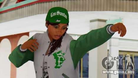 [GTA5] Fam Girl para GTA San Andreas