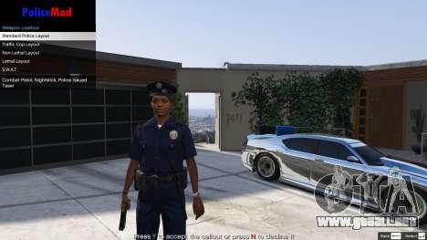 GTA 5 PoliceMod 2 2.0.2 sexta captura de pantalla