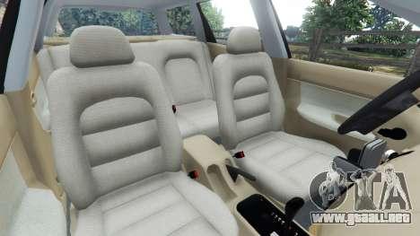 Rueda de GTA 5 Daewoo Nubira I Wagon CDX US 1999