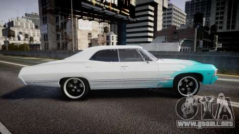 Chevrolet Impala 1967 Custom livery 1 para GTA 4 left