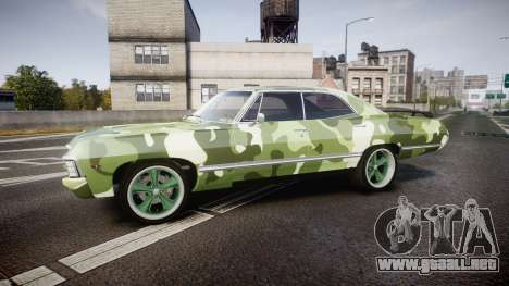 Chevrolet Impala 1967 Custom livery 6 para GTA 4 left