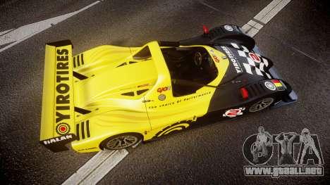 Radical SR8 RX 2011 [2] para GTA 4 visión correcta
