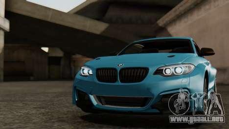 BMW M235i F22 Sport 2014 para las ruedas de GTA San Andreas