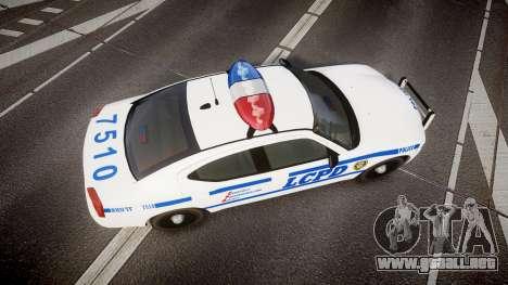 Dodge Charger LCPD para GTA 4 visión correcta