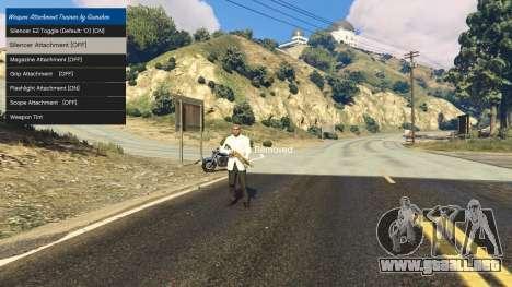 Tuning accesorios para armas 1.1 para GTA 5