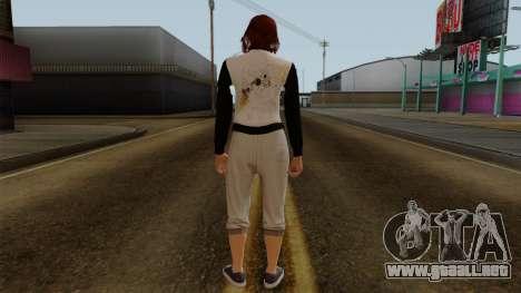 GTA 5 Online Female01 para GTA San Andreas tercera pantalla