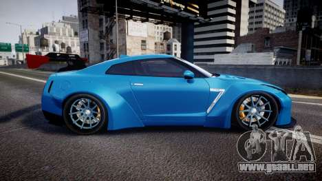 Nissan GT-R (R35) para GTA 4 left