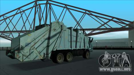TDK Volvo Xpeditor Garbage Crash Version para vista lateral GTA San Andreas