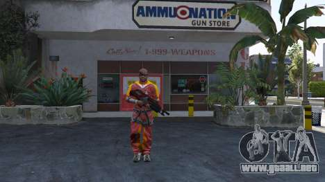 GTA 5 M-76 Revenant из de Mass Effect 2
