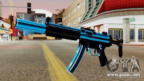 Fulmicotone MP5 para GTA San Andreas