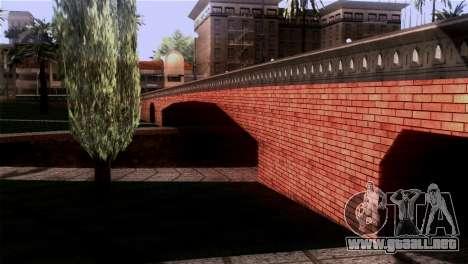Nuevas texturas Skate Park para GTA San Andreas sucesivamente de pantalla