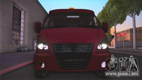 Gas 32213 para la visión correcta GTA San Andreas