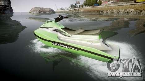 GTA V Speedophile Seashark para GTA 4 left